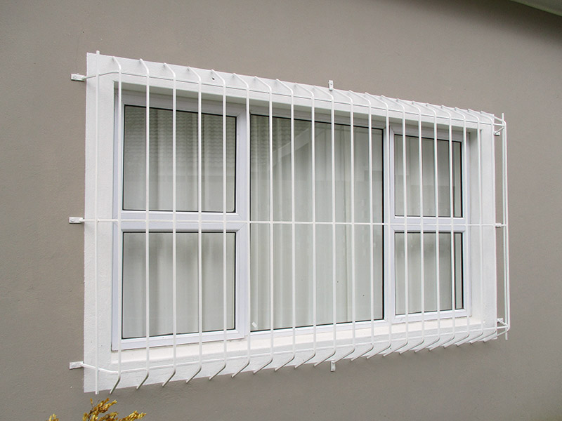 Burglar Bars Manufactured By Brian S Engineering Somerset